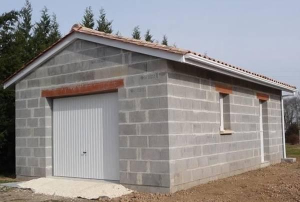 prix au m2 construction garage