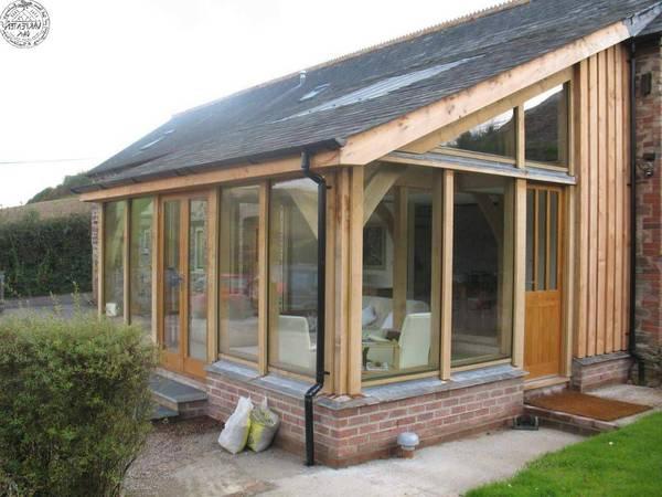 véranda extension toit plat