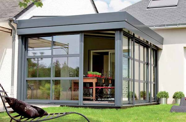 extension maison ou veranda