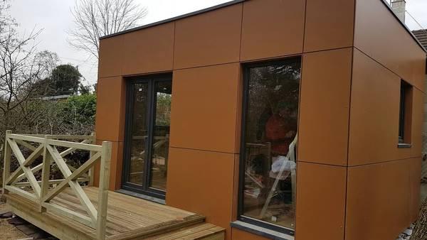 prix d'une extension de maison en bois