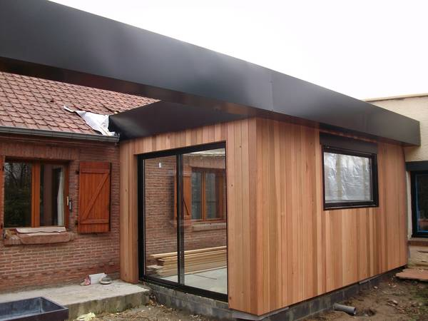 travaux extension maison