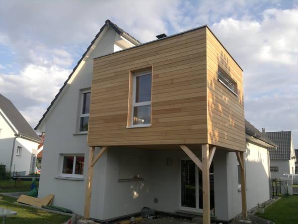 extension maison ossature bois ile de france
